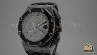 Швейцарские часы Audemars Piguet JUAN PABLO MONTOYA ROYAL OAK OFFSHORE TITANIUM LIMITED(, 2016-05-10T07:23:58.000Z)