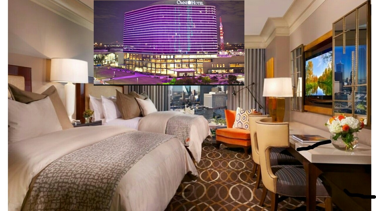 Omni Hotel Room Tour Downtown Atlanta Youtube