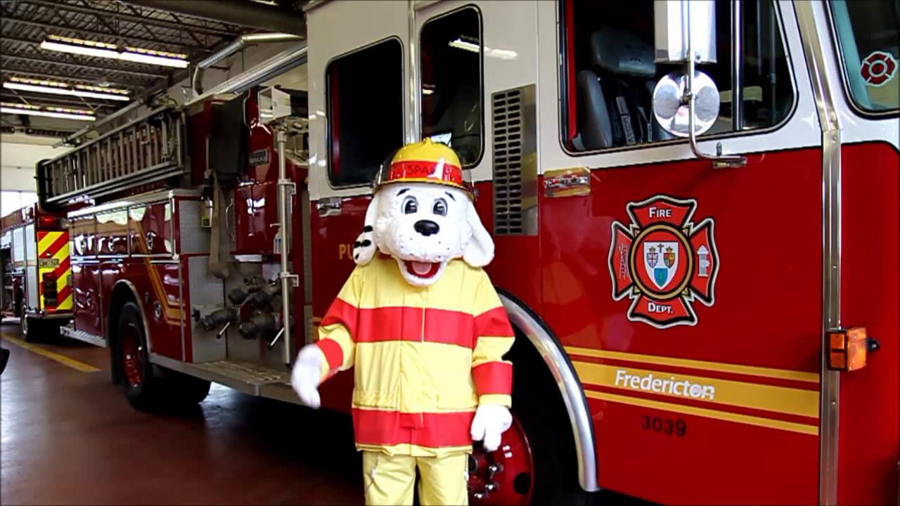 Sparky The Fire Dog Fredericton New Brunswick