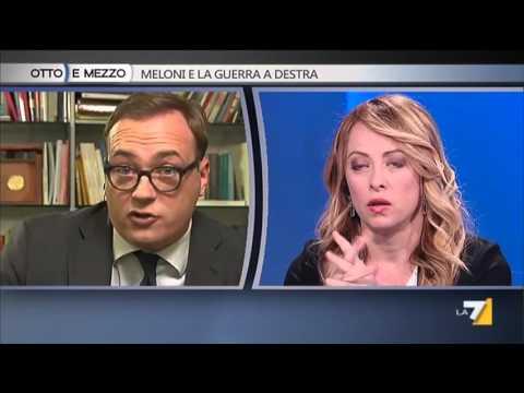 Otto e Mezzo ospiti: Meloni, Cerno e Franco 24/02/2016