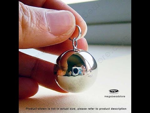 20mm plain sterling silver harmony ball sound youtube 20mm plain sterling silver harmony ball sound aloadofball Images