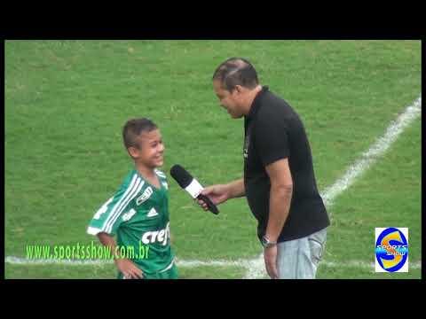 Palmeiras 7 X 1 Rio Branco cat  sub 13