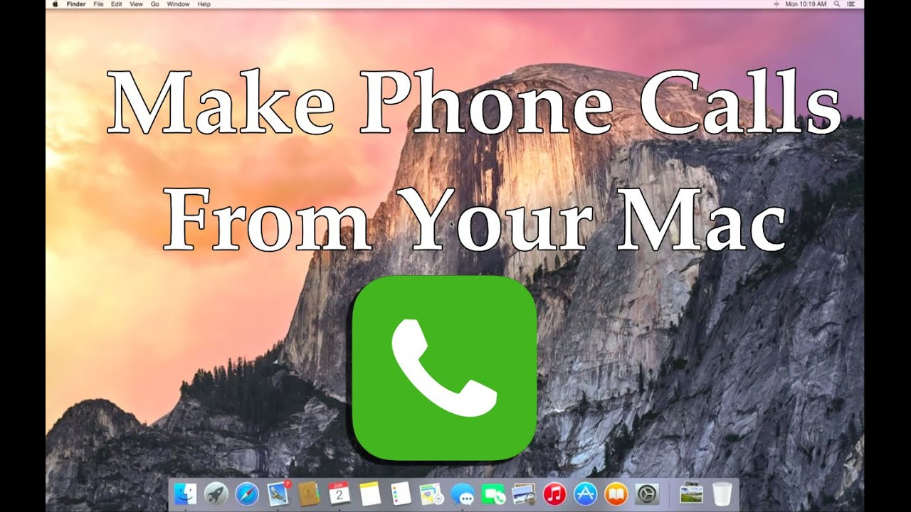 Make And Receive Phone Calls On Your Mac How To Youtube Indihome Sky Top Up 3 Gb
