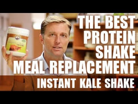 The Best Protein Shake Meal Replacement - Instant Kale Shake