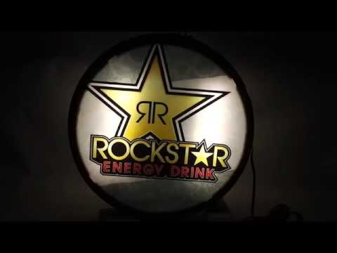 Sold Used ROCKSTAR Energy Drink Light Up Sign