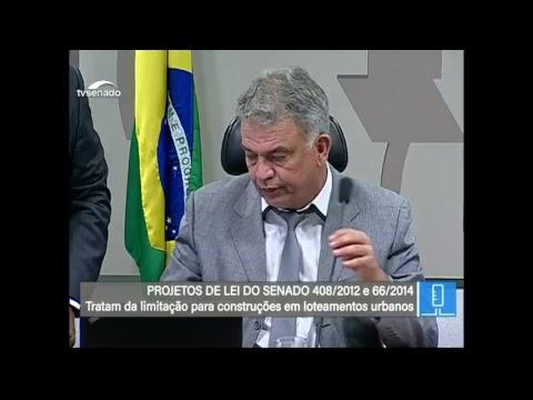 TV Senado ao vivo-Votações - CMA - 17/04/2018
