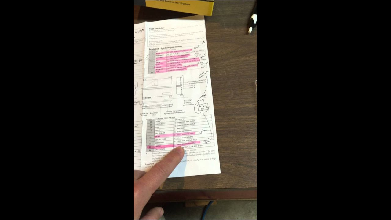 maxresdefault viper remote start & dball2 for 03 07 chevy silverado youtube viper 4806v wiring diagram at bakdesigns.co