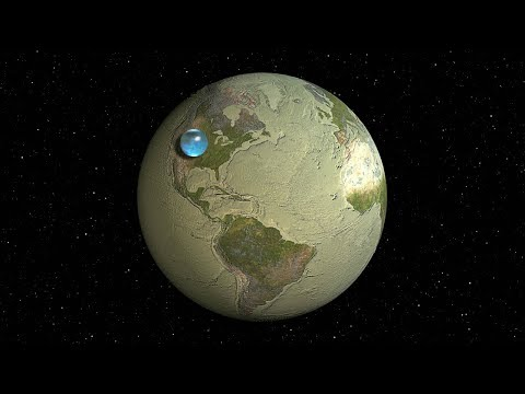 If Earth's Ocean Became a Planet
