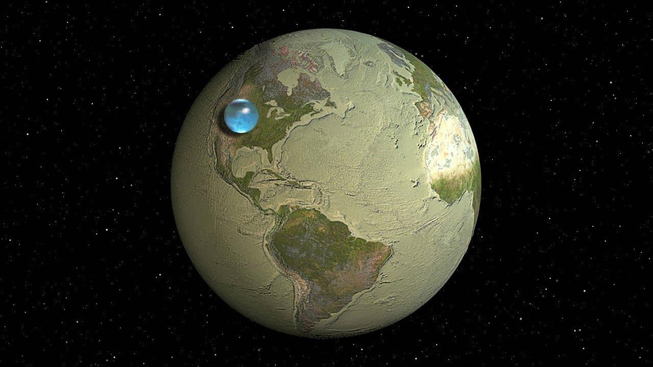 сколько процентов поверхности земли занимает океан