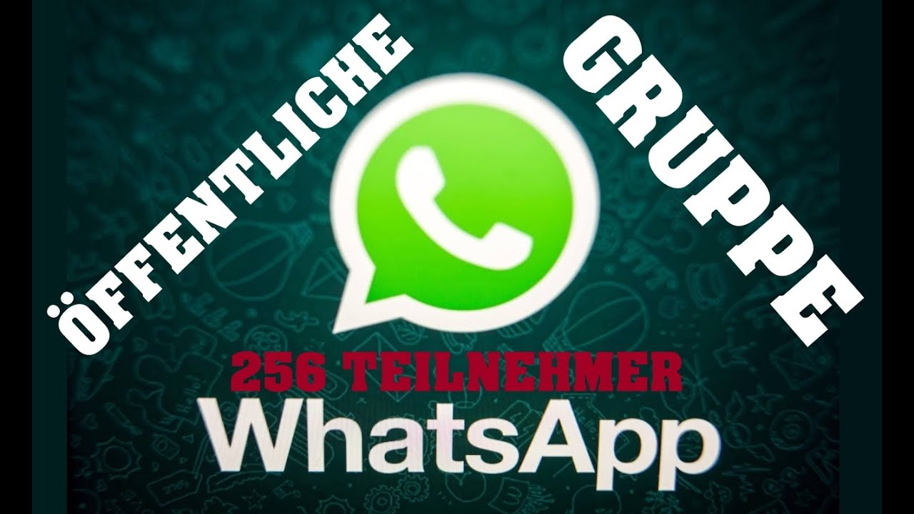 öffentliche Whatsapp Gruppe