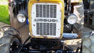 Montaż silnika 3p do Ursusa C-330 4x4