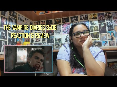 """The Vampire Diaries 8x08 REACTION & REVIEW """"We Have History Together"""" S08E08 