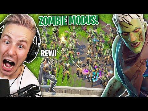 100 FORTNITE Spieler gegen REWI - CUSTOM Server ZOMBIE Modus!
