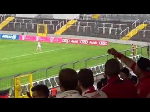FC BAYERN AMATEURE - FC INGOLSTADT II 5:0 | Die letzten Sekunden, Stimmung & Feier nach dem Spiel