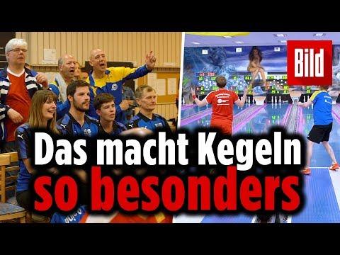 BILD beim Finale des Deutschen Kegelpokals