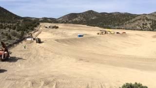 Heap Leach Ground Level - Clifton Mining