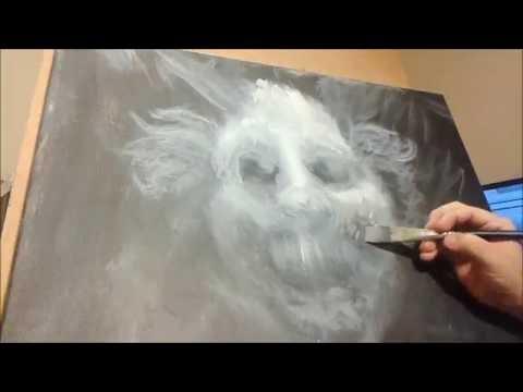 Horror Painting Timelapse 3 - Clown