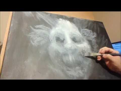 Horror Painting Timelapse 3 - Clown