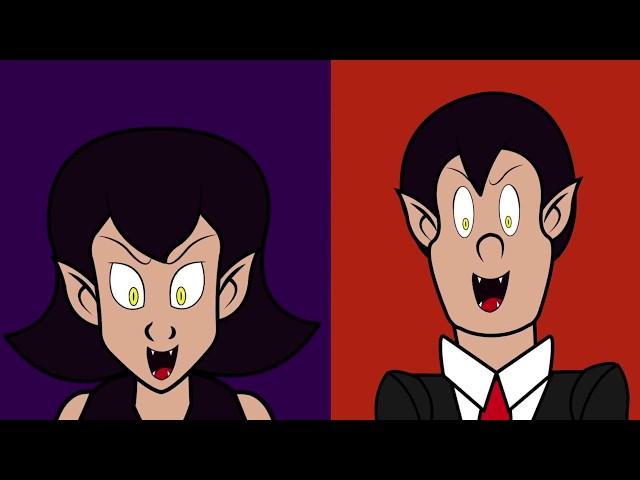 Vampiros en la Casa | Halloween y Esqueletos | Canciones Infantiles
