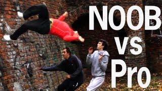 PARKOUR: NOOB VS PRO!