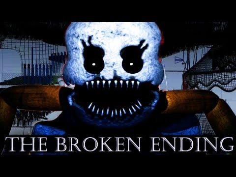 SECRET FUNTIME ANIMATRONIC ENDING!?   Baby's Nightmare Circus (FREE ROAM Five Nights at Freddys)