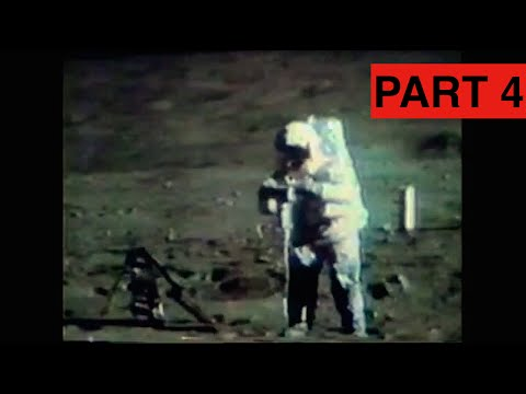 Apollo 16 - Lunar TV Transmissions Part 4 (Drilling The Deep Core)