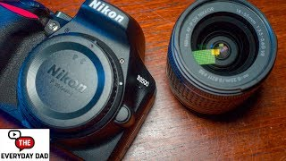 The Everyday Dad: Nikon D3500 Review for Budget Video?