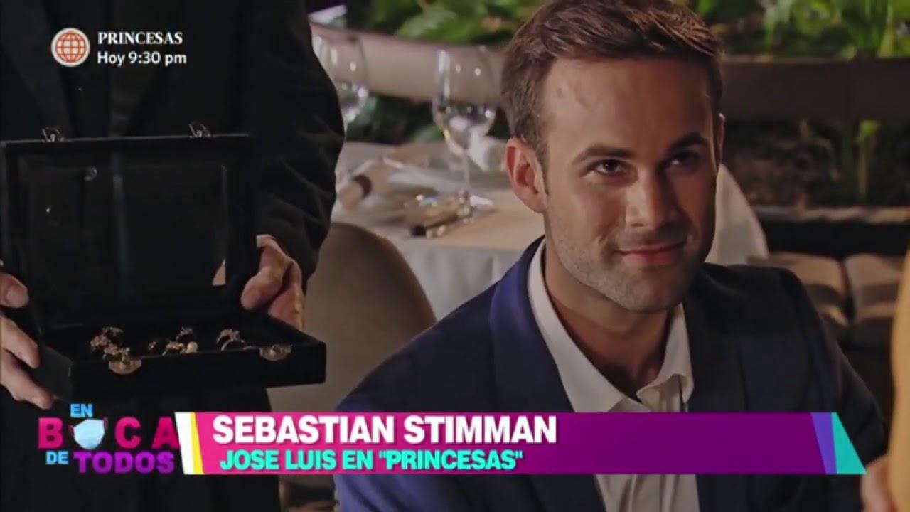 """En Boca de Todos: Sebastian Stimman interpreta a José Luis en """"Princesas""""  (HOY)"""