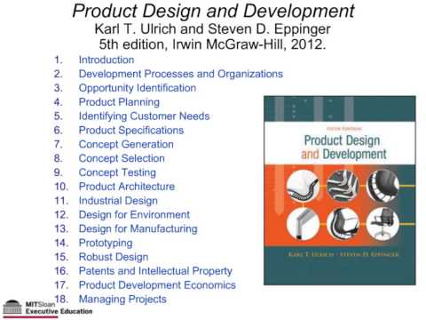 Webinar with Steve Eppinger: Systematic Innovation by Design