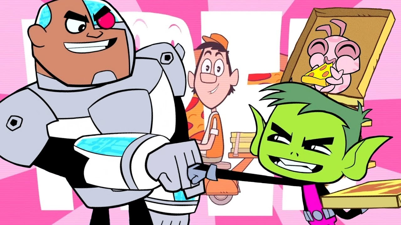 Teen Titans Go Em Portugus  Pizza De Graa  Dc Kids -2327