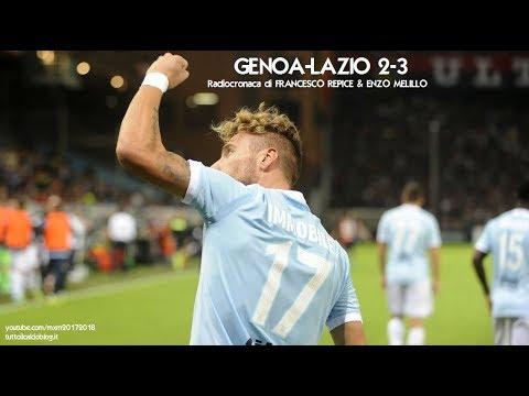 GENOA-LAZIO 2-3 - Radiocronaca di Francesco Repice & Enzo Melillo (17/9/2017) da Rai Radio 1