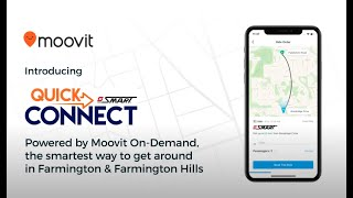 SMART Quick Connect (Microtransit service), powered by Moovit On-Demand