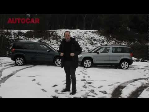 Winter tyres vs 4x4 - snow tyre test - autocar.co.uk