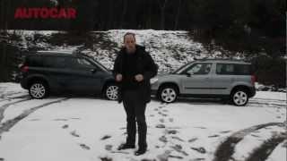 Winter tyres vs 4x4 - snow tyre test - autocar.co.uk