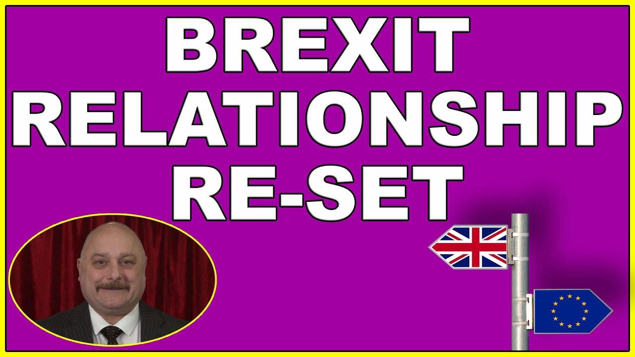 EU - UK post-Brexit relationship reset! (4k)