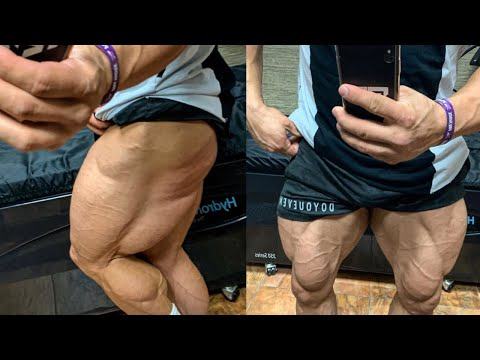 DAY IN THE LIFE WITH REGAN GRIMES! HOW TO TRAIN LEGS