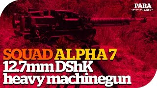 SquadBites v7 ► 12.7mm DShK Heavy Machinegun