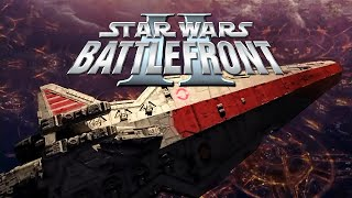 Star Wars Battlefront 2 - Battle over Coruscant Mod Map