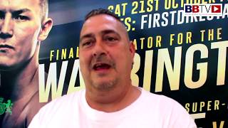 SEAN O'HAGAN - JOSH WARRINGTON'S DAD:
