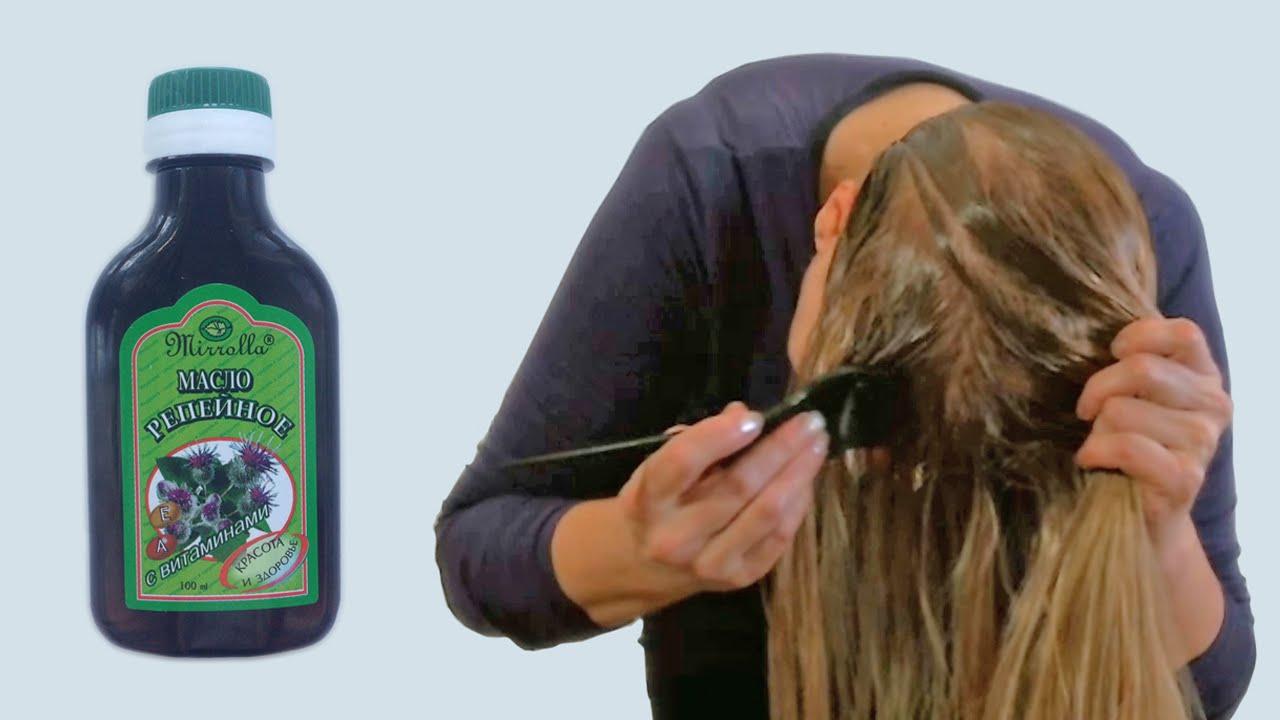 Почему от репейного масла волосы выпадают