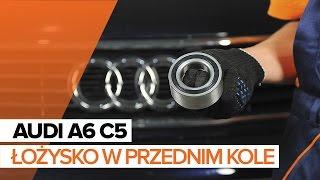 Jak wymienić Zestaw łożysk koła AUDI A6 Avant (4B5, C5) - przewodnik wideo