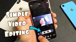 How to Trim/Cut/Split Videos on iPhone X, XR, XS, XS Max (Super Easy)