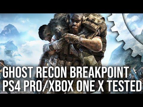 [4K] Ghost Recon Breakpoint: PS4 Pro vs Xbox One X Graphics Comparison + Tech Breakdown!
