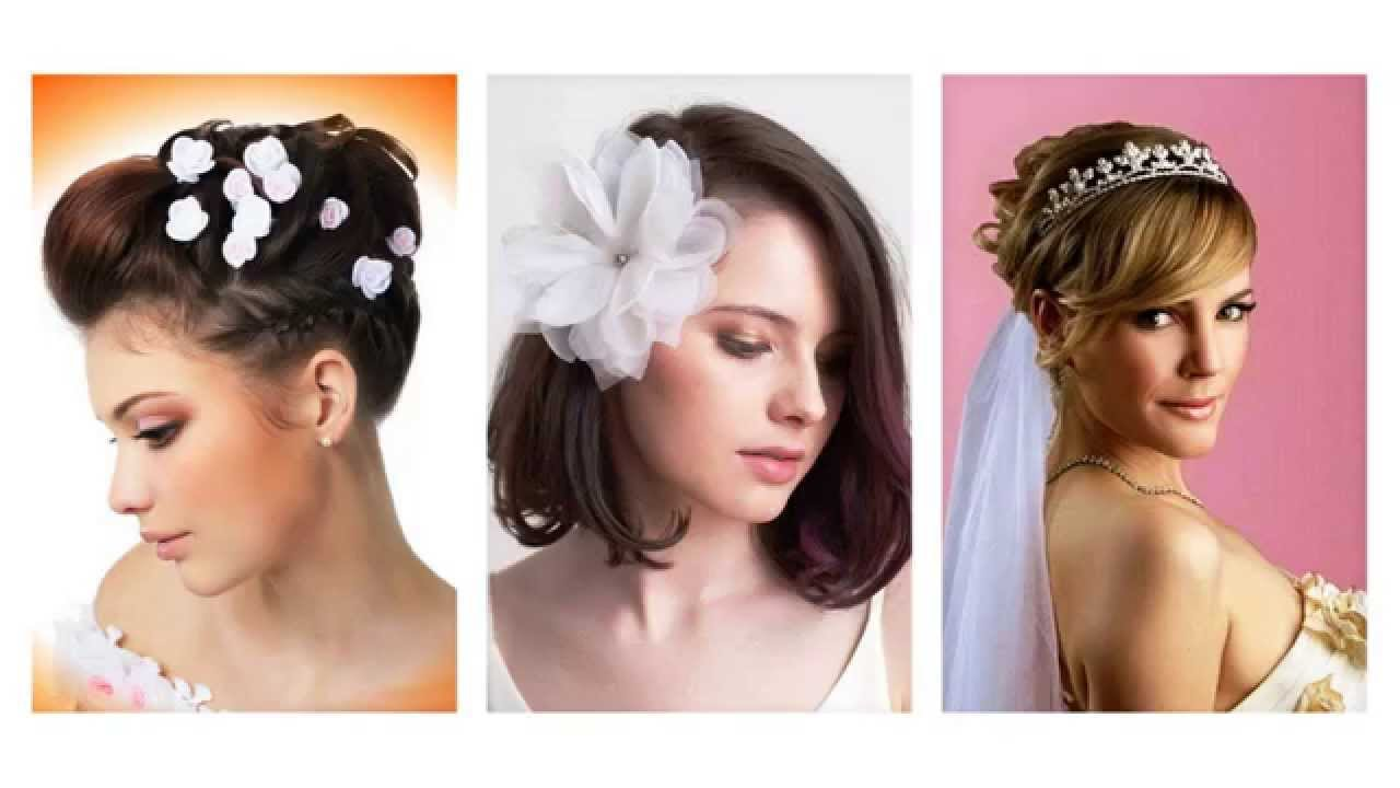Favoloso Acconciature sposa capelli corti - YouTube HG92