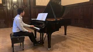 CARLOS FLORIT SERVETTI: Preludio para la mano izquierda - Javier Villegas (piano)