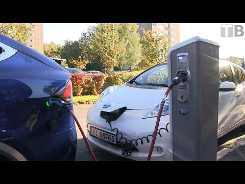 How to use public charging stations in Norway