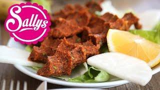 Cigköfte Rezept / türkische, vegane Frikadellen / türkische Spezialität / Sally in der Türkei