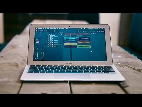 Making Music On A MacBook Air 11