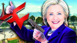 HILLARY CLINTON PLAYS CALL OF DUTY! (Call of Duty Trolling)