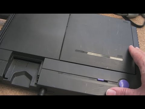 NEC PC Engine Duo Multiple Repairs Part 1 (Drive Fault & Capacitors)